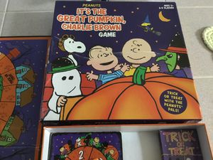 Charlie Brown game Halloween for Sale in Woodbridge, VA