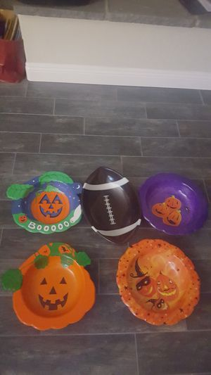 Halloween candy dishes for Sale in Corona, CA