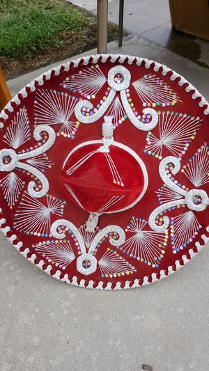 Mariachi Hat From Mexico for Sale in Clovis, CA