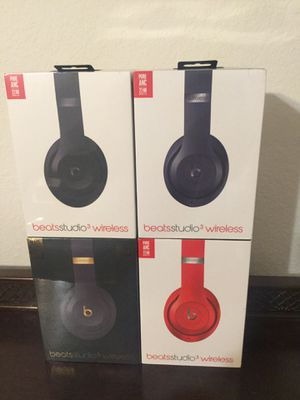 Beats studio 3 wireless headphones new for Sale in Allen, TX