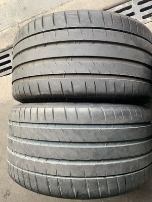 (2)295-30-20 PAIR OF USED TIRES MICHELIN for Sale in Los Angeles, CA