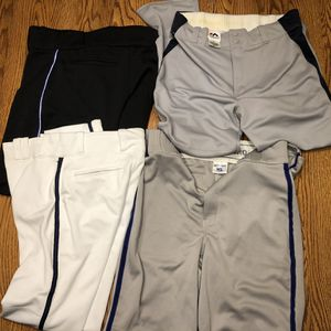 4 Pairs New Baseball Pants Majestic Champro Youth XL Large for Sale in Oak Forest, IL