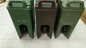 3 cambro drink dispensers for Sale in Newport News, VA