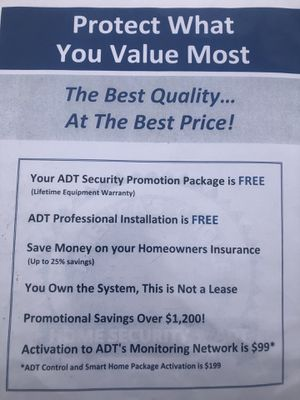 Free ADT smart home security system for Sale in Moreno Valley, CA