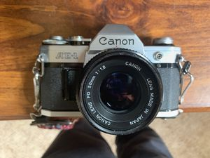 MINT CANON AE1 SLR FILM CAMERA for Sale in Palmdale, CA