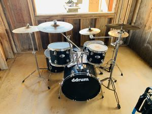 Ddrum D2 drum set with cymbals for Sale in Pomona, CA
