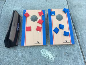 Portable corn hole/tic tac toe set for Sale in Cary, NC