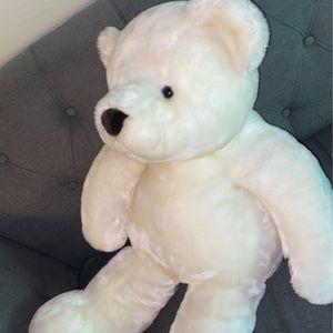 2 1/2 Foot Tall White Stuffed Teddy Bear for Sale in Glendale, AZ