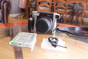 Fujifilm Instax Wide 300 Instant Film Camera (With Extra Lens & Film) for Sale in Torrance, CA