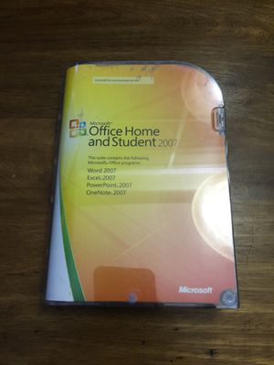 Microsoft home and student 2007 for Sale in Portland, OR