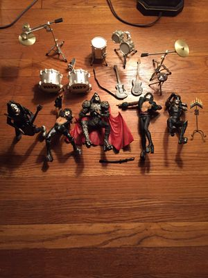 Very collectible Kiss creatures of the night action figures $50 FIRM for Sale in Cleveland, OH