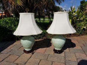 Vintage Jade Oriental Lamps for Sale in West Palm Beach, FL