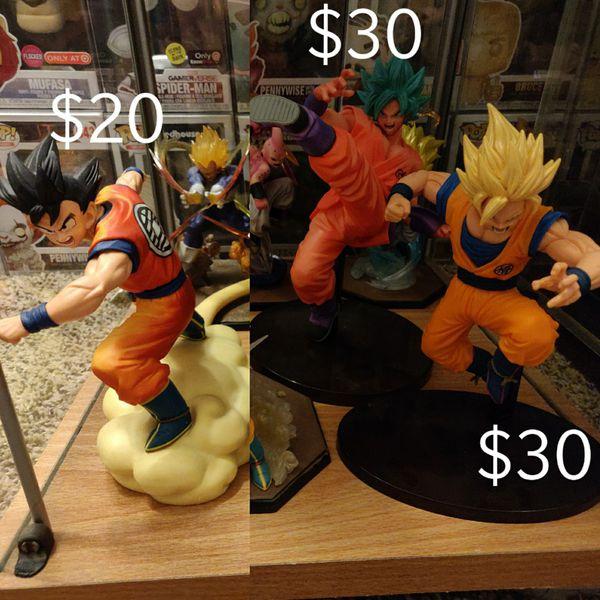 Dragon Ball z statues toy