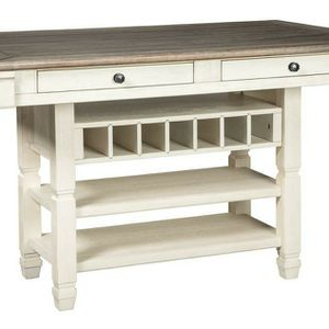 On Dısplay 💥Bolanburg Antique White/Oak Counter Height Dining Table | D647 by Ashley for Sale in Washington, DC