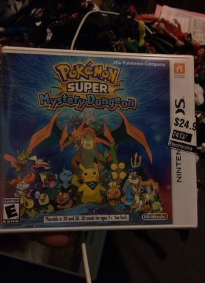 Pokémon super mystery dungeon Nintendo 3ds for Sale in East Los Angeles, CA