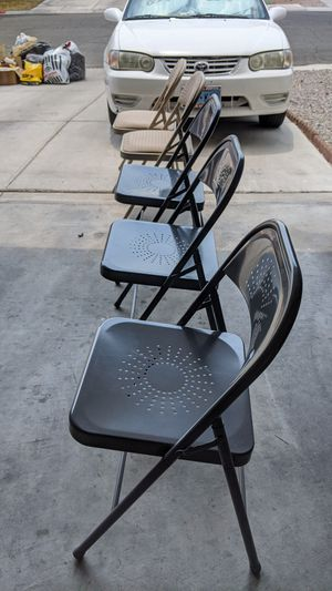 CHAIRS LIKE NEW CONDITION FROM SAM'S CLUB , $5 EACH for Sale in Las Vegas, NV