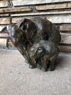 Elephant Statue - Mother and Calf for Sale in Wichita, KS