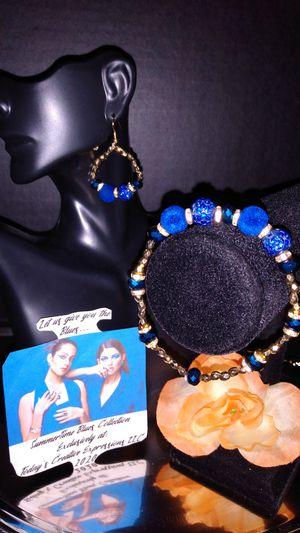The Blue Velvet Jewelry Set! for Sale in Baton Rouge, LA