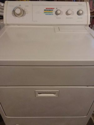 Whirlpool gas dryer work's very good good conditions trabaja muy bien for Sale in Stockton, CA