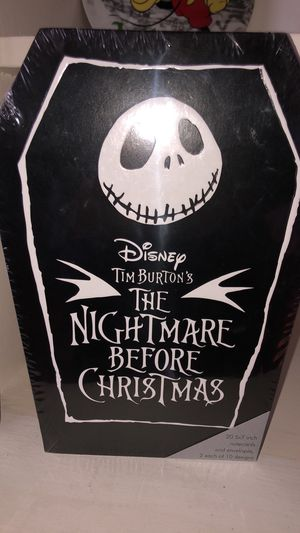 NIGHTMARE BEFORE CHRISTMAS NOTE CARDS for Sale in Long Beach, CA