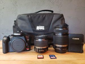 Canon Rebel XTi DSLR Camera with Lens Kit & Bag for Sale in Tucson, AZ