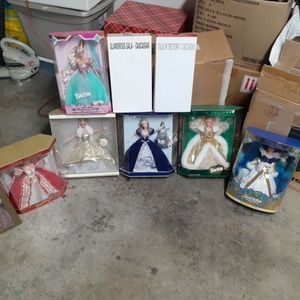 New Unopened Barbie Doll Collection 14 Of Them for Sale in Ontario, CA