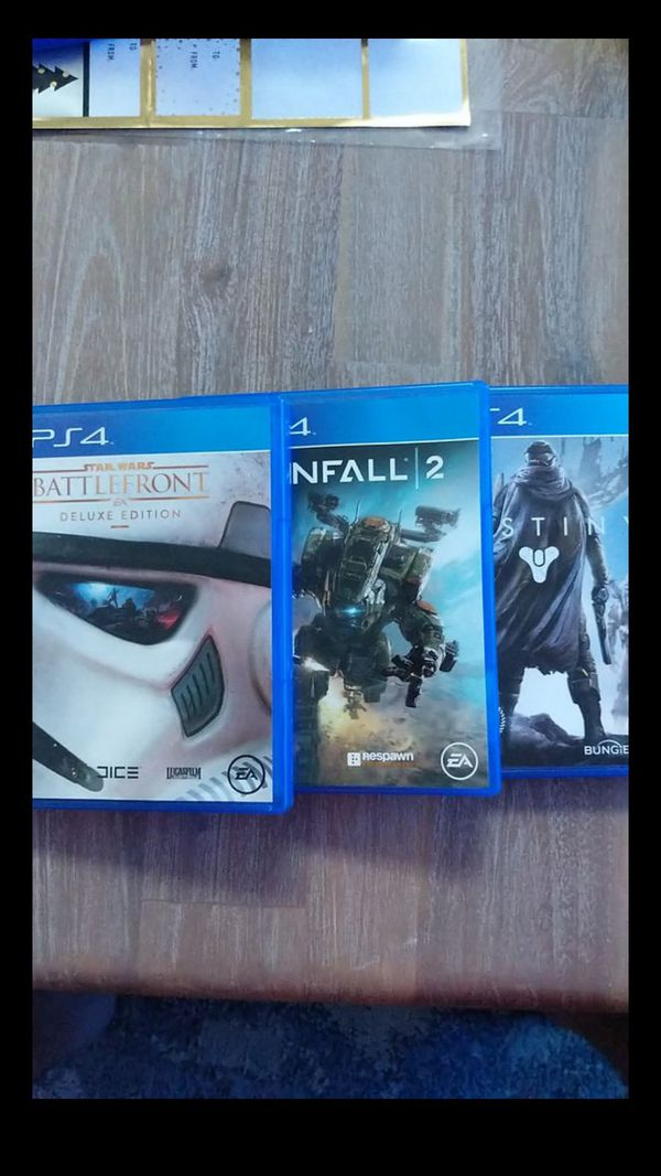 PS4 and games for sale