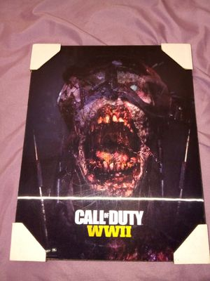 Call of duty holgrahic wall picture for Sale in Pembroke Pines, FL