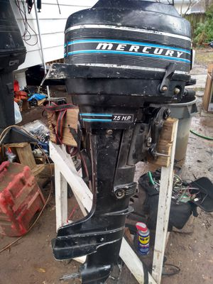Mercury 7.5hp outboard motor for Sale in Lanham, MD