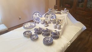 """Antique """"Blue Willow"""" Service for 6, fine China. Made in Japan for Sale in Dearborn, MI"""