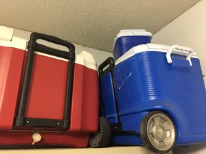 Various coolers for sale for Sale in Plantation, FL