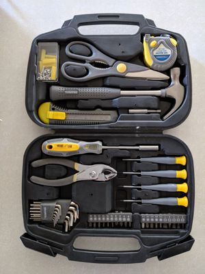 42 Piece Household Tool Set In Carrying Case for Sale in Apache Junction, AZ