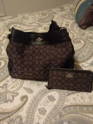 Coach bag and wallet for Sale in Bolivar, WV