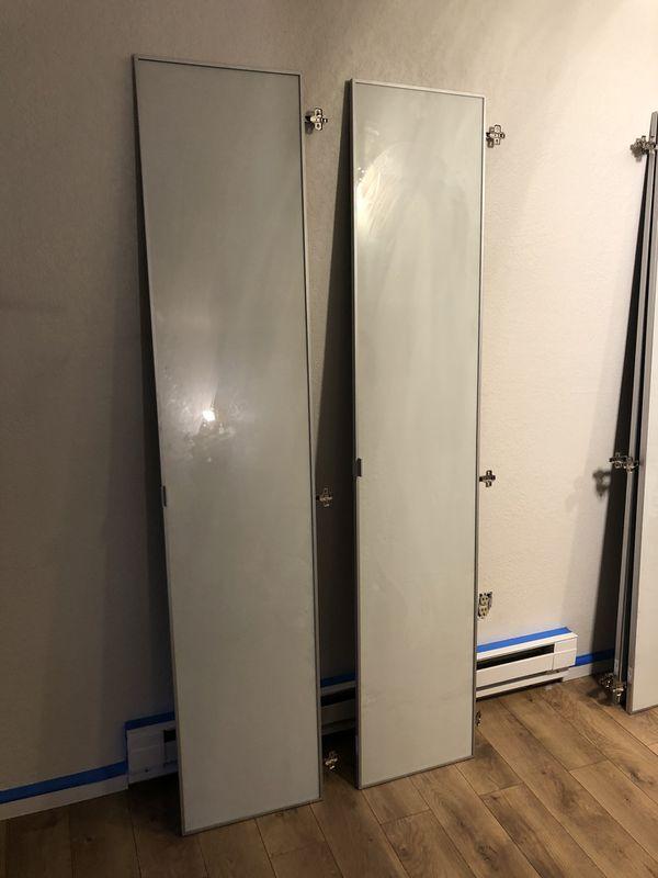 IKEA Morliden Glass Doors For BILLY Bookcase