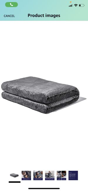 Gravity Queen/King Blanket: The Weighted Blanket for Sleep | Premium Weighted Blanket with Removable Cover | Generation 3 with Upgraded Zipper Fasten for Sale in Glendale, AZ
