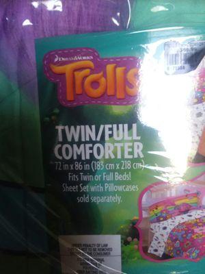 Trolls twin/full comforter for Sale in Granite Quarry, NC