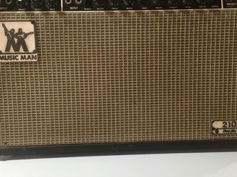 Vintage Music Man 210 Guitar Amp Works!!! for Sale in New Baltimore,  MI