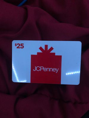 Jcpenny 25$ store credit for Sale in Naperville, IL