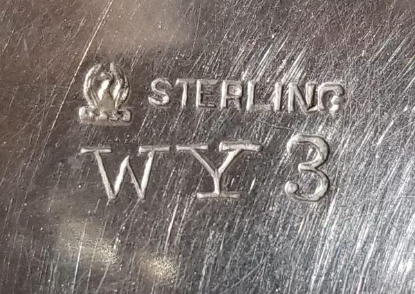 "Sterling Silver 5"" Bowl"