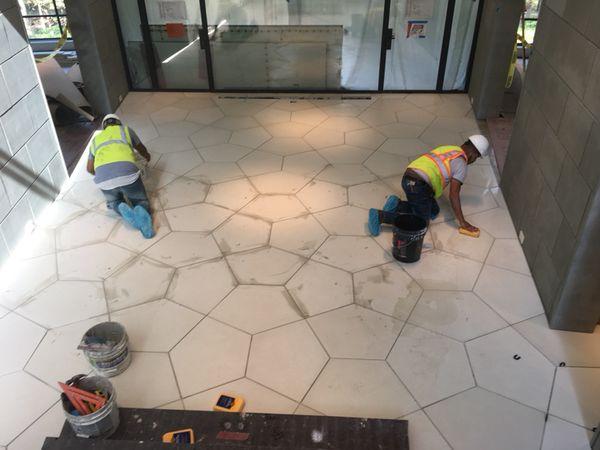 Tile service's