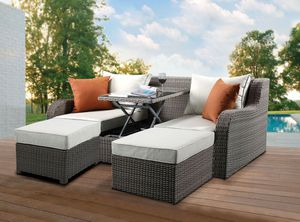 New Salena sun lounges sofa couch with table for Sale in Fullerton, CA