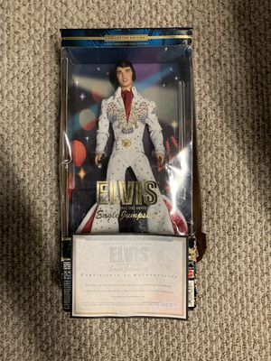 Barbie ELVIS Barbie Collector Edition ELVIS PRESLEY FreeShipping for Sale in Providence, RI