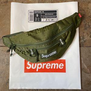 Supreme Waist Bag SS19 Olive for Sale in Las Vegas, NV