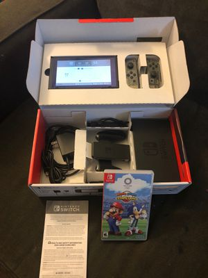 Custom Nintendo Switch and a game for Sale in Rancho Santa Margarita, CA
