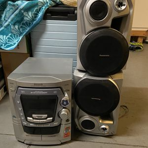 Panasonic CD Stereo System SA-AK 490 for Sale in San Ramon, CA