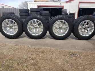 Rines Para chevy GMC 6 virlos con llantas 275/65 R 20 for Sale in Fort Worth,  TX