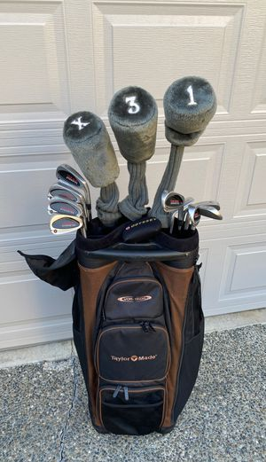 Full set of Taylormade knock off irons and woods for Sale in Kirkland, WA