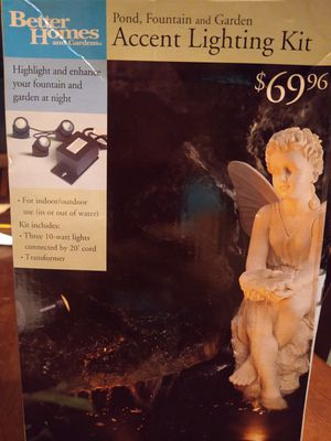 Pond, fountain and garden access lighting kit for Sale in Bakersfield, CA