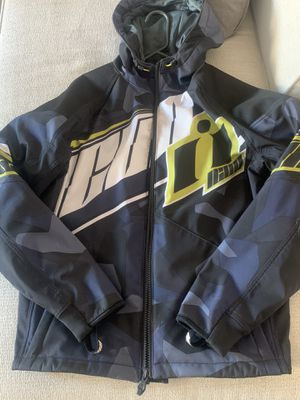 Icon Merc Deployed Motorcycle Jacket for Sale in Lake Shore, MD