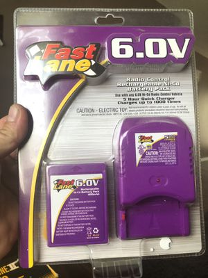 Fast Lane 6.0V Rechargeable Ni-Cd Battery Pack for Sale in Clearwater, FL